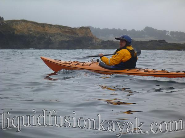 Brother Scott goes kayaking