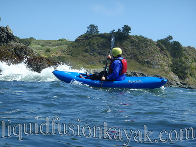 Whitewater of the Sea in Fort Bragg, CA