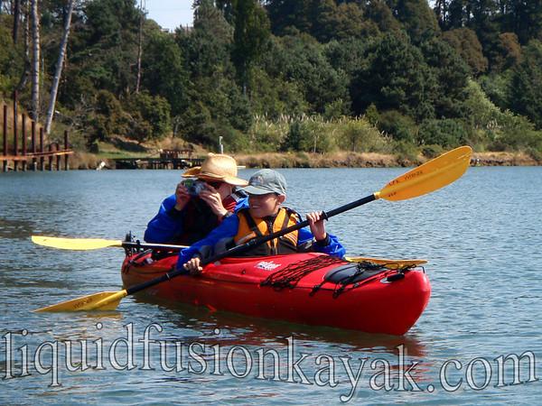 Sunset Bird Paddle with Liquid Fusion Kayaking