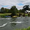 Weir into Lake Rotorua