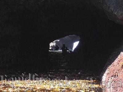Tunnel under the headlands.