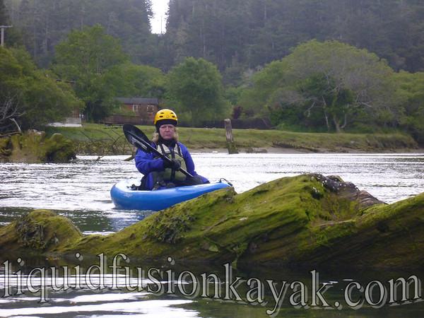 "Mendocino Coast ""Waves and Caves Kayak Adventure"" 5.25.2012"