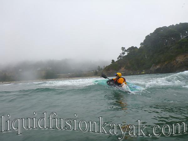 Kayak Surfing August 2012