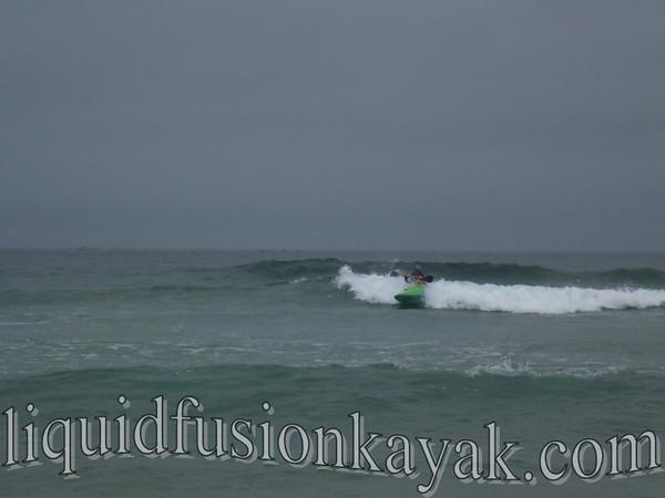 Kayak Surfing Class 6.22.2012