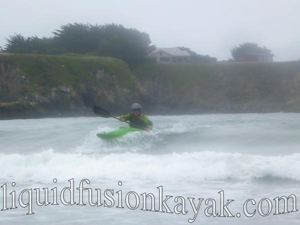 Kayak Surfing July 2012