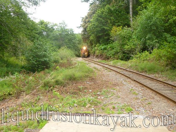 Tracks to Kayaks July 2012