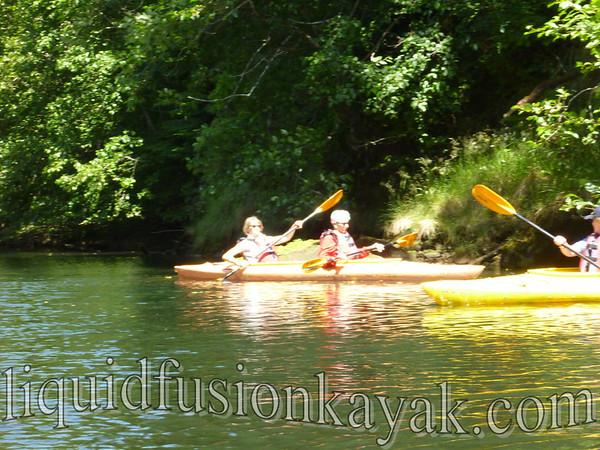 Tracks to Kayaks 7.3.2012