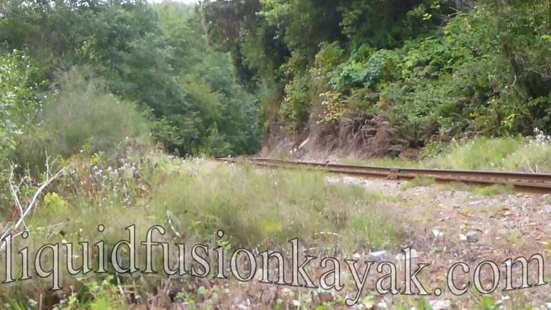 Tracks to Kayaks August 2012