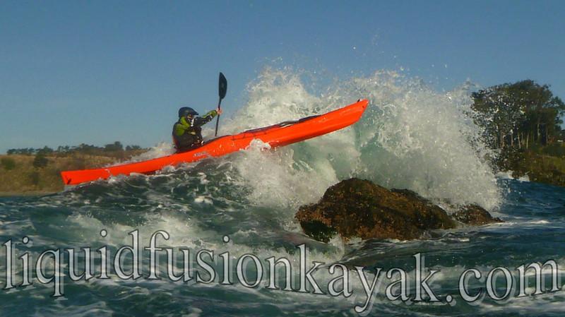 Sea Kayak Rock Gardening 2013