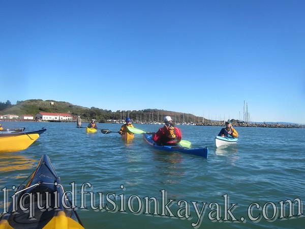 Sea Kayaking 2013