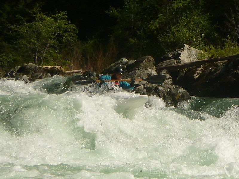 Whitewater Kayaking on the Trinity River