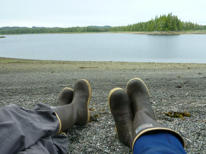 Alaskan sneakers.