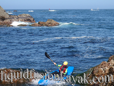 A wet and wild kayak adventure in Fort Bragg's Noyo Bay