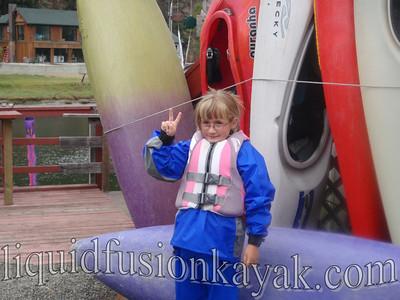 Kids Kayaking in Fort Bragg, CA