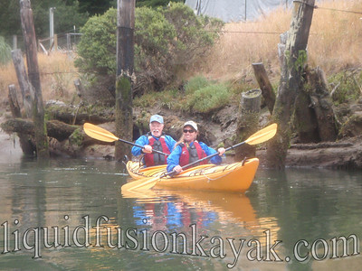 Noyo  River Estuary Kayak Tour