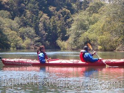 Kayaking and wildlife watching on Fort Bragg's Noyo River