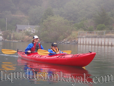 Kayaking and wildlife watching on Fort Bragg's Noyo River