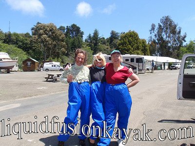 High and Dry . . . that's how we wear our splash pants.