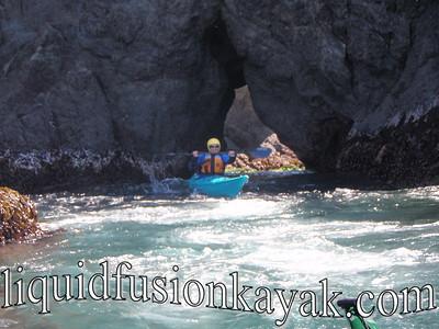 Sea Kayaking on the Mendocino Coast