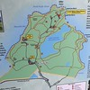 Map of Abercrombie State Park in Kodiak.