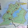 Map of Abercrombie State Park in Kodiak.