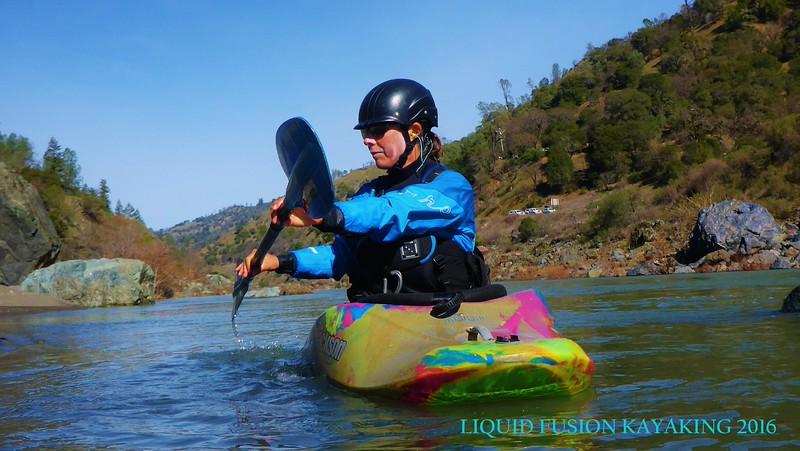 Precision River Running Eel River Feb 2016