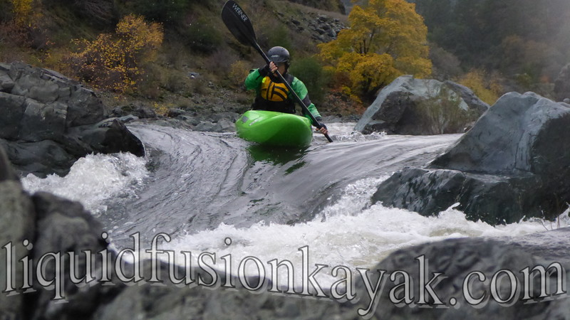 Private whitewater kayak lesson Eel River