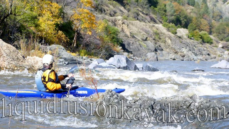 Eel River Whitewater Kayak