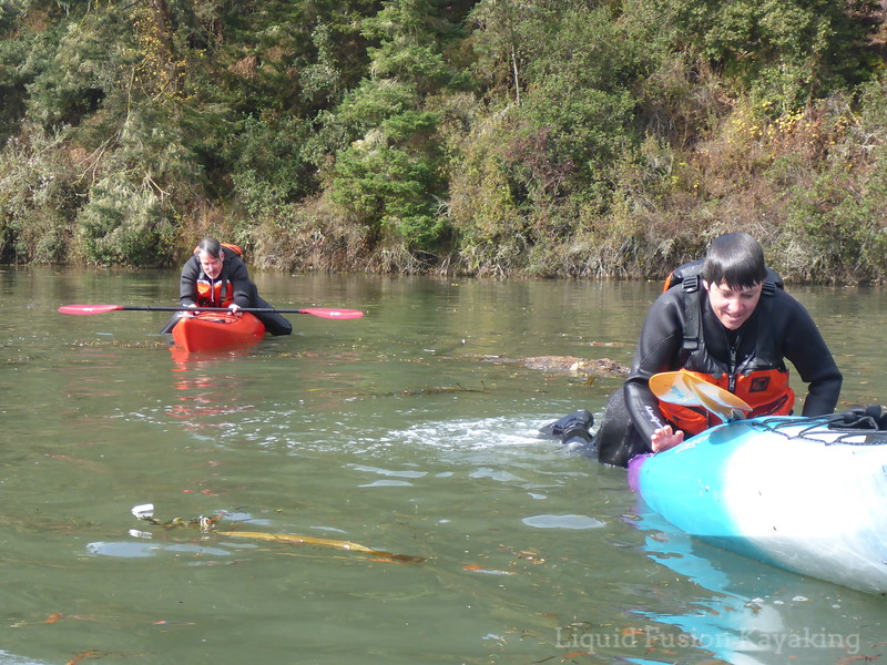 cowboy cowgirl sea kayak scramble