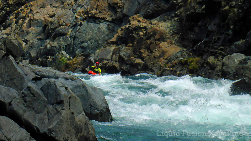 Kayaking North Fork Smith River