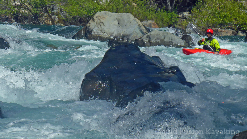 Whitewater kayaking on the Smith River