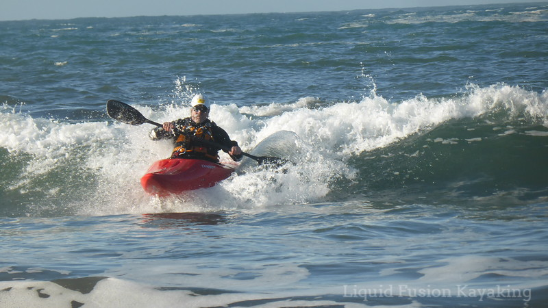 Mendocino Surf Kayaking
