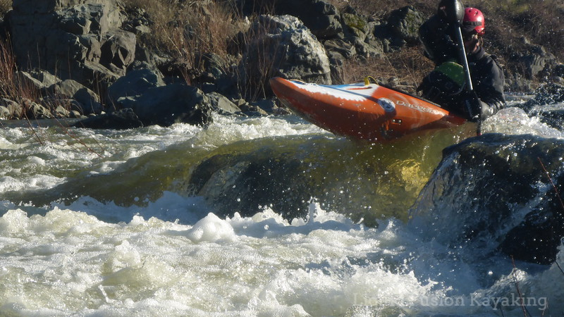Whitewater Kayak Boof Stroke