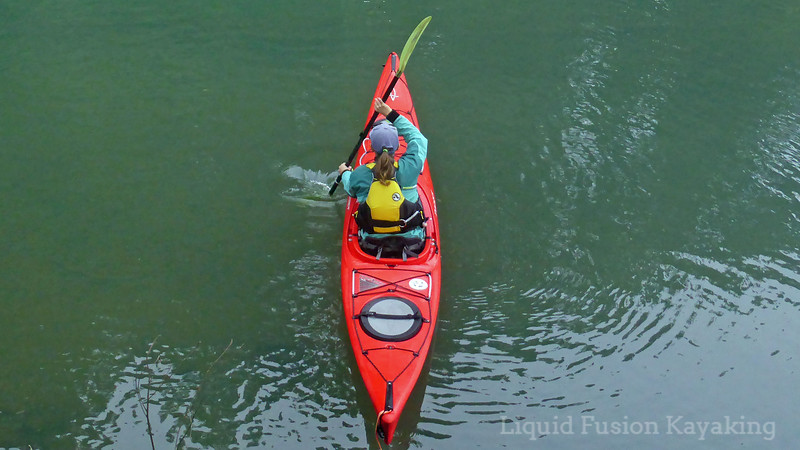 sea kayak forward stroke instruction