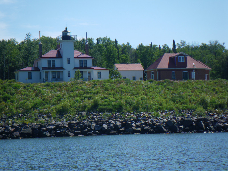The Raspberry Island Lighthouse, which we toured.