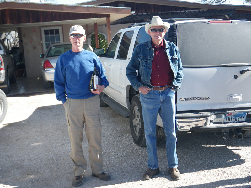 Our guide, Jim, and Mr. Skiles