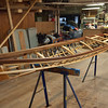 End of day 3.  The frame is done and has been oiled