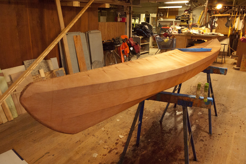 My boat, dyed