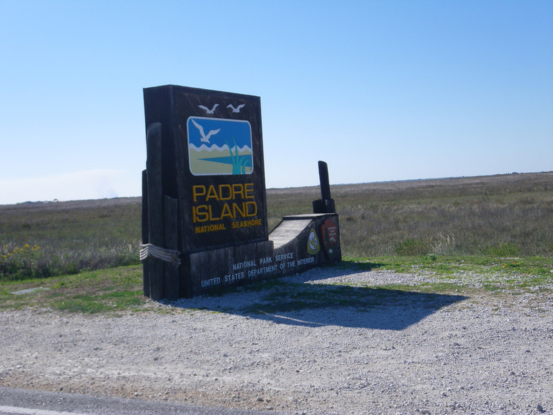 After the dunes paddle, Padre Island National Seashore was three minutes away.