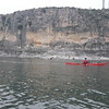 Paddle one, cliff across from campsite