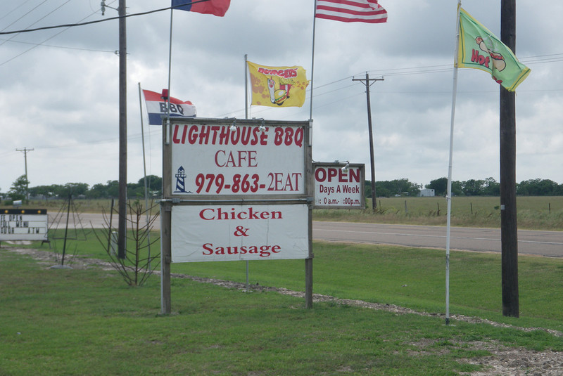 Last stop about 5 miles north of Matagorda. We weren't sure, but it was open.