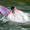 John, surfacing<br /> Fascination Alley<br /> Cheat River Narrows, West Virginia<br /> May 2009