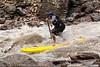 Ken Hoeve in Alder Creek Rapid on the Main Salmon River in Idaho.