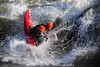 Brian Ward with a nice Air Blunt in a Dagger Ego at the Bladder Wave, Main Payette River Idaho.