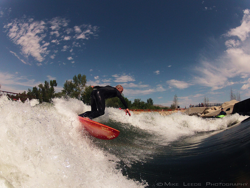 Chris Peterson shredding the Boise Whitewater Park. Shot on a Go-Pro 2.