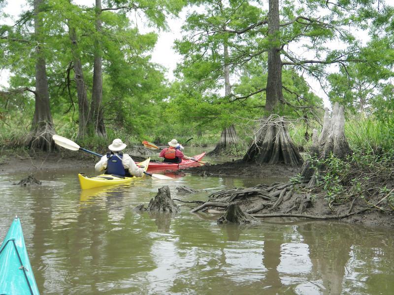 Low water kept us focused.
