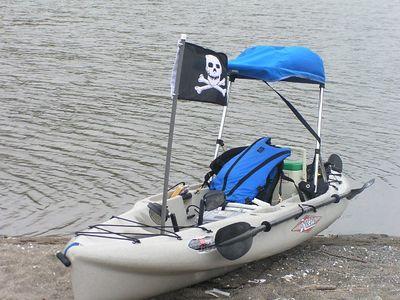 Kayaking Petaluma April '04