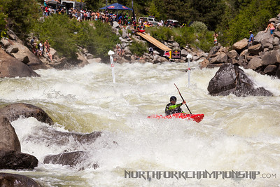 Erik Jahnson coming into Taffy Puller in Jacob's Ladder During the North Fork Championship 2013