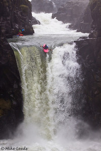 Katrina Van Wijk on Celestial Falls.