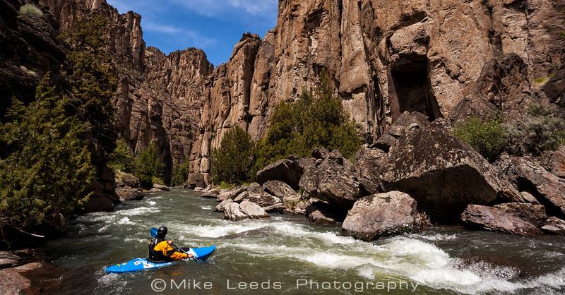 Will Parham on the Jarbidge River in Idaho.
